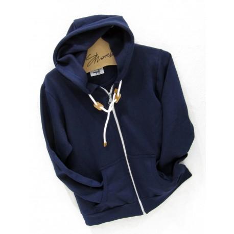 Full-Zip Hooded Sweat