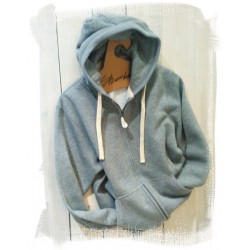 Mens  Full Zip Hood Sweat Heavyweight