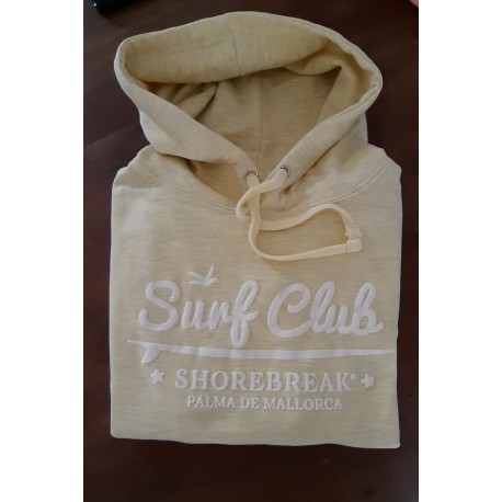 Hoodie Surf Club Yellow