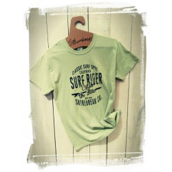T-Shirt Surf Rider Lime